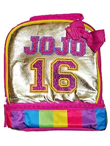 JoJo Siwa 16 Dual Lunch Bag Silver