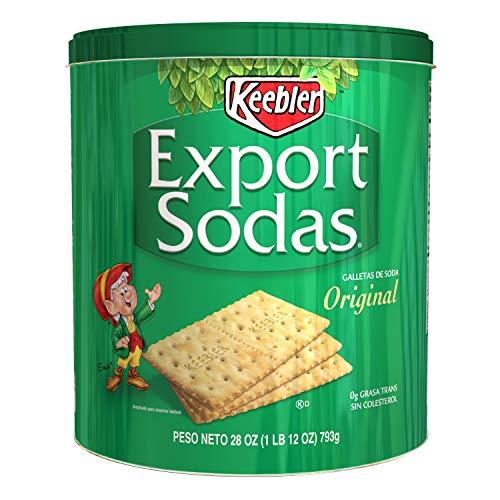 Keebler Export Sodas Original Crackers 28 Oz Can (Pack of 1)