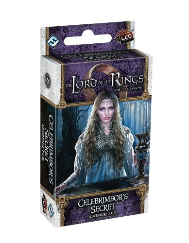 Fantasy Flight Games The Lord of The Rings Lcg: Celebrimbor's Secret Adventure Pack