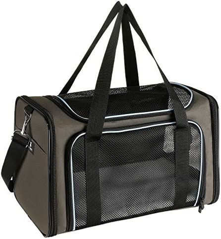X ZONE PET Airline Approved Pet Carriers Soft Sided Collapsible Pet Travel Carrier for Medium product image