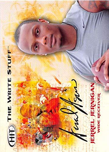 2011 SAGE Hit Write Stuff Football #WS13 Jerrel Jernigan Troy Trojans Prospect Trading Card