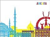 Poster 130 x 100 cm: Ankara von Editors Choice -