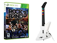 RB3 has great new party modes for quick rocking sessions with friends, as well as a whole new universe of challenges including a revamped Career Mode and 700+ goals and rewards Rock Band 3 soundtrack contains 83 tracks by the best bands from around t...