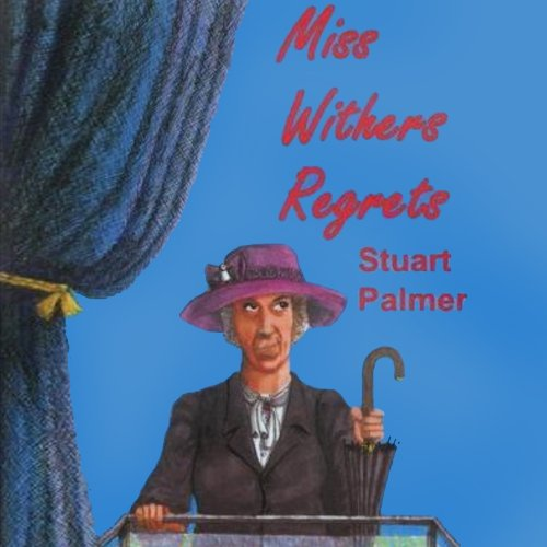 Miss Withers Regrets audiobook cover art
