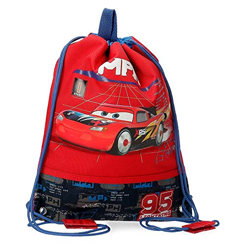 Disney Cars Rocket Racing Bolsa de Merienda Multicolor 27x34 cms Poliéster