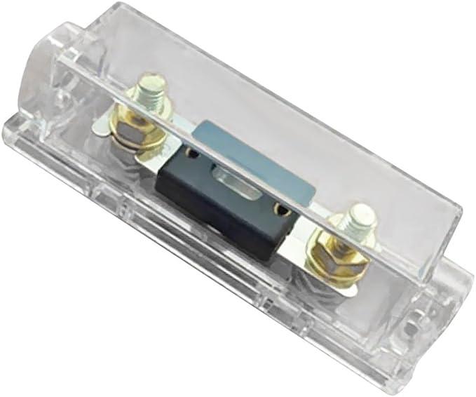 Kokiya Car Audio Anl Sicherungshalter Sicherungshalter 0 4 8 Gauge Inline Mit 50a 80a 100a 120a 150a 200a 250a 300a Anl Sicherung 120a Auto