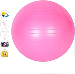 WXYXG Yoga Ball, Frosted Thicken Explosion-Proof Gym Ball Pregnant Women Delivery Ball Beginner Gym Ball (Color : #1)