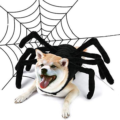 UNIIKE Disfraz De Halloween para Mascotas Perros Araas Sudadera Ropa Ropa Mascotas Perros Halloween Divertido Perro Cachorro Fiesta Temtica Disfraz para Perro Mediano Grande,XL