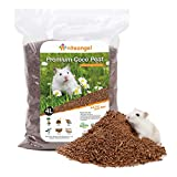 Niteangel Coco Peat & Chips Dry Digging & Burrowing Base for Rodent Pets (Coco Peat)