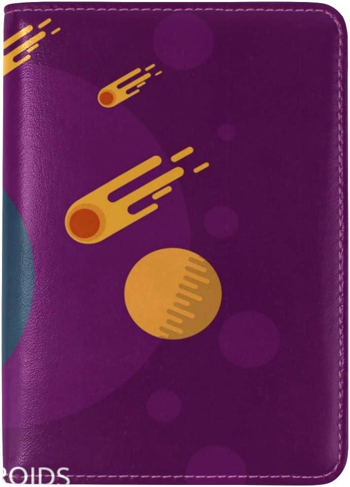 MONTOJ Alien Invasion Passport Cover Passport Holder Cover Wallet
