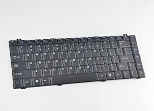 Eathtek Replacement Keyboard Compatible for Gateway Sa1 Sa6 W650i W6501 W650l W650A W350I W350A W350L W350R B1865040G00002 MP-07A43US-B39 MP-07A43US-920 0717007938M AESA1R00110 Series Black US Layout