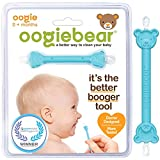 oogiebear - PATENTED CURVED SCOOP AND LOOP; The Safe Nasal Booger and Ear Cleaner - Baby Shower Registry. Easy Nose Cleaner Gadget for Infants and Toddlers. Dual Earwax and Snot Removal (Blue, Single)