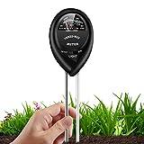 10. HighLandy Soil Test Kit 3-in-1 Soil Tester with Moisture, Light and PH Test, Double Needle Design Soil PH Meter