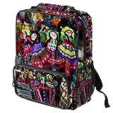 TIZORAX - Mochila escolar para niñas y niños, hecha a mano, marionetas, para viajes, senderismo, acampada