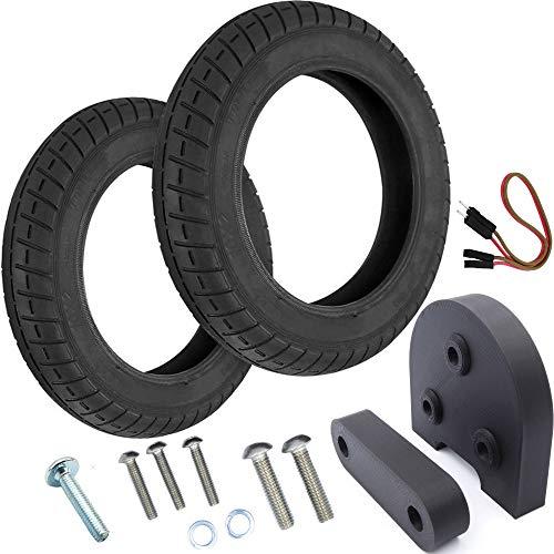 Vestigia - Par de Neumáticos de 10 Pulgadas para Xiaomi M365, Pro Patinete Eléctrico - Kit para Ruedas - Wanda - (2 x...