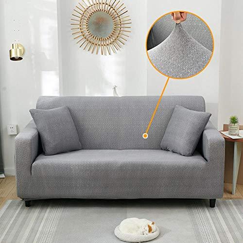 KKDIY Funda de sofá Fundas de sofá elásticas Fundas de sofá para Sala de Estar Funda de Asiento de sofá Funda de Toalla de sofá Funda de Muebles Fundas de Color 30,2 plazas (145-185cm), China