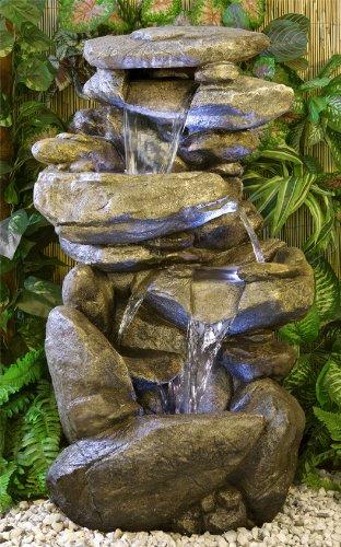 Primrose Función de lúpulo Thornton Agua con Luces: Amazon.es: Jardín