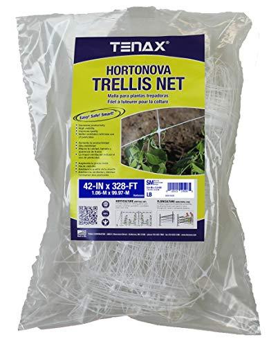 TENAX 100521792 Hortonova Plant Trellis Net 42quot x 328#039 White