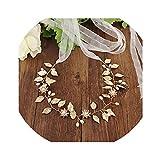 Hotmoment-ukCrystal - Cinturón de boda con perlas y diamantes de imitación para accesorios de novia, color gris oscuro Off-white Organza Talla única