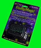 Firefly Magic Glow Pack(TM) Battery-Operated Floral & Centerpiece Firefly Lights (Lightning Bug Lights) - Model FM-2AAPK2, 8 LED Lights (Green)