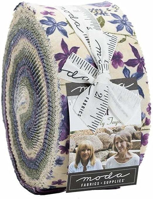 Holly Taylor Violet Hill Jelly Roll 40 2.5-inch Strips Moda Fabrics 6820JR