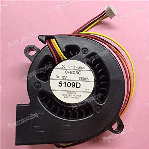 Ayazscmbs compatibili per Nuovo CH-TW5200/TW5210/TW5300/TW5350 Projector Ventilatore C-E05C Raffreddamento Ventilatore