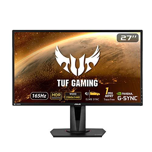 ASUS TUF Gaming VG27AQ HDR Monitor para juegos - 27 pulgadas WQHD...