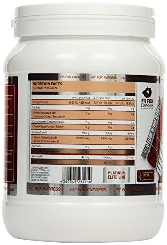 Fit Fox Express – Premium L-Glutamine Aminosäuren Pulver, 500g Dose - 2
