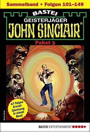 John Sinclair-Paket 3 - Horror-Serie: Folgen 101-149 in einem Sammelband (John Sinclair Staffel)