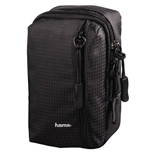 Hama Fancy Sporty Kompaktes Gehäuse Schwarz - Kamerataschen/-Koffer (Kompaktes Gehäuse, Jede Marke, Schwarz)