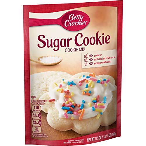 Betty Crocker Sugar Cookie Baking Mix, 17.5 oz