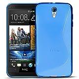 Conie SC5312 S Line Case Kompatibel mit HTC Desire 620, TPU