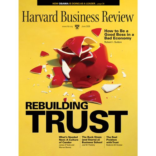 Harvard Business Review, June 2009 audiobook cover art