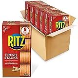 RITZ Fresh Stacks Whole Wheat Crackers, 6 - 11.6 oz Boxes (48 Stacks)