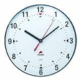 Alba - HORCLAS - Horloge Murale - Circulaire - Pendule Moderne Silencieuse - 25 cm - Blanc