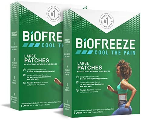 Biofreeze Pain Relief Patch Large 10 Patches product image