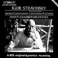 Danses Concertantes; Pulcinell by SIBELIUS JEAN / STRAVINSKY IG (1994-09-22)