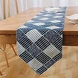Deirdre Agnes Asciugamano da Letto Creativo Moderno Blu Bandiera tovaglia Bandiera Tessuto di Cotone Tavolo da tè Bandiera Letto