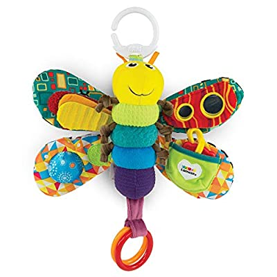 LAMAZE Freddie The Firefly - Clip on Pram & Pushchair Newborn Baby Toy, Sensory Toy for Babies Boys & Girls From 0 - 6 Months by RCTK4