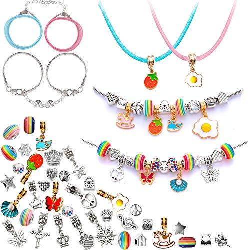 Kit de fabricación de pulseras de regalo, regalos para niñas de 8 a 12 años, regalos de unicornio para adolescentes, manualidades y manualidades para niños y niñas
