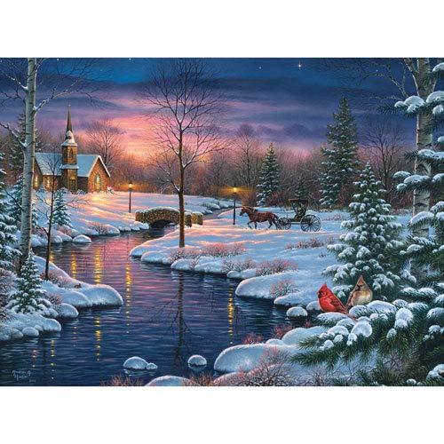 1000 piece puzzles winter - 7