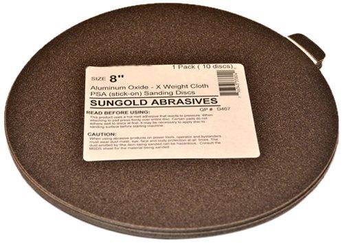 Sungold Abrasives 338088 120 Grit 8
