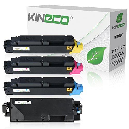 Kineco 4 Toner kompatibel für Kyocera TK-5140 ECOSYS M 6030 CDN M 6530 P 6130