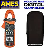 600A T-RMS AC/DC Clamp Meter