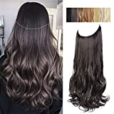 AISI BEAUTY Halo Hair Extension Synthetic...