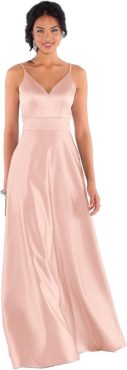 Yitiantian Cheap mail order specialty store Women's Spaghetti Strap Dresses Long 2021 Memphis Mall Bridesmaid