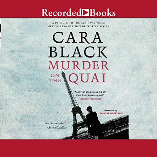 Murder on the Quai audiobook cover art