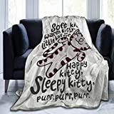 5husihai The Big Bang Theory Soft Kitty Digital Printed Ultra-Soft Micro Fleece Blanket Soft Warm 50' X40' 60'x50' 80'x60'