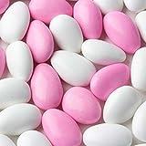 Pink & White Jordan Almonds 1LB Bag