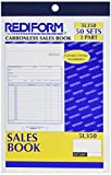 Rediform Sales Order Book, 5.5' x 8', 50 Numbered Triplicates (5L350)